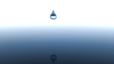 Water Droplet Stock Video Footage