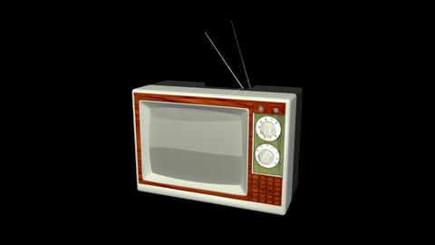Antique TV Stock Video Footage