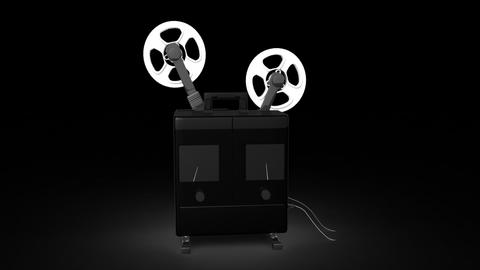 Film Projector Stock Video Footage