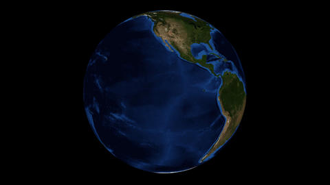 Globe Realistic 360 Stock Video Footage