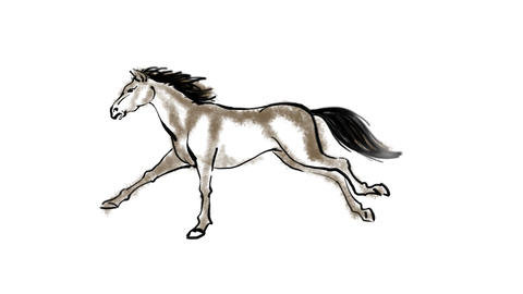 Zodiac Horse Animation
