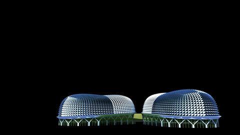Singapore - Esplanade Animation