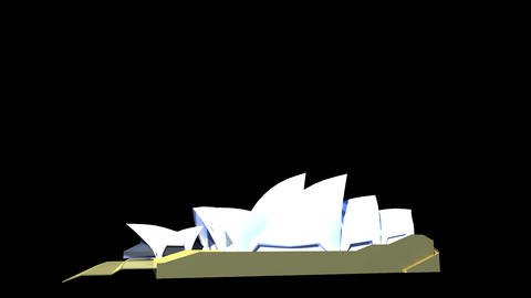 Australia - Sydney Opera House Animation