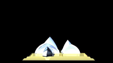 Australia - Sydney Opera House Stock Video Footage