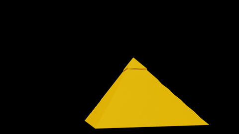 Egypt - Great Pyramid of Giza Animation