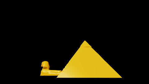 Egypt - Great Pyramid of Giza Stock Video Footage