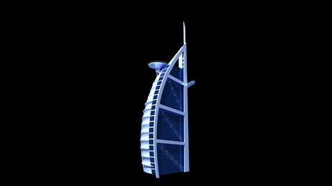 UAE - Burj AL Arab Animation