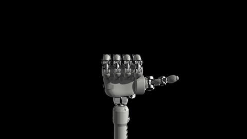 Robotic Hand No6 Animation