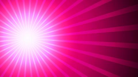 Rayorama Fuschia Pink Left Animation