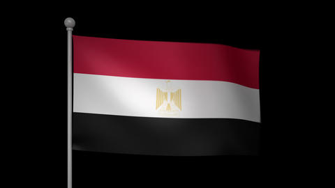 Egypt Flag Animation