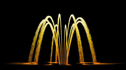 Water Fountain Inverted Awl Animation