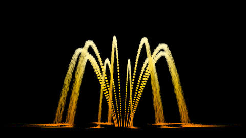 Water Fountain Inverted Awl Stock Video Footage