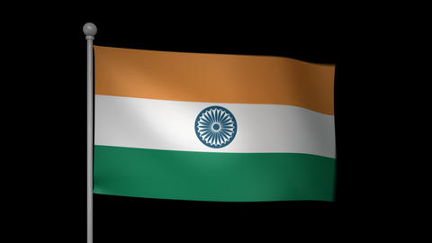 India Flag Animation