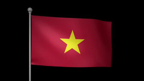 Vietnam Flag Animation