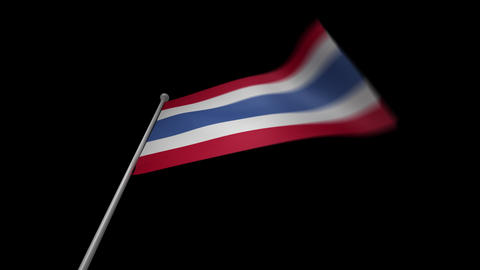 Thailand Flag Animation