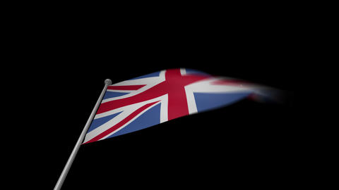 UK Flag Animation
