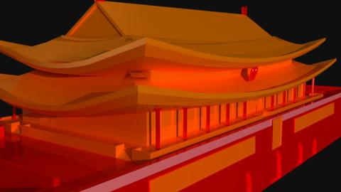 Landmarks & Flags (3d Models) Set 0