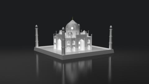 Landmarks & Flags (3d Models) Set 2