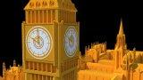 UK - Big Ben 3Dモデル