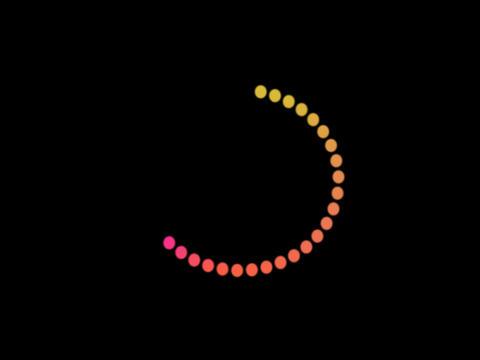 Circle Dot Big Stock Video Footage