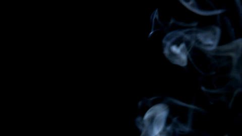 Turbulent Smoke Stock Video Footage