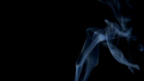 Turbulent Smoke Stock Video Footage