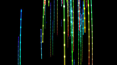 Fibre Optics Data Download Animation
