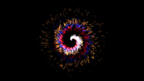 Fireworks Gold Animation