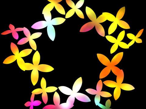 Flower Dance Stock Video Footage