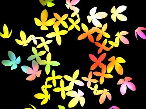 Flower Dance Animation