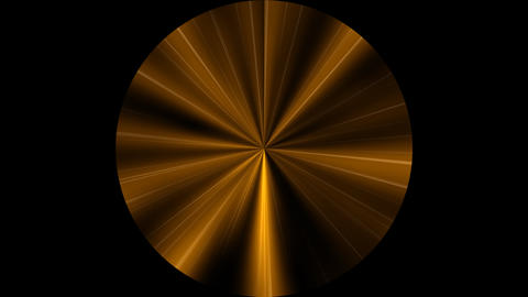 Fractal Lines Polar Gold Stock Video Footage