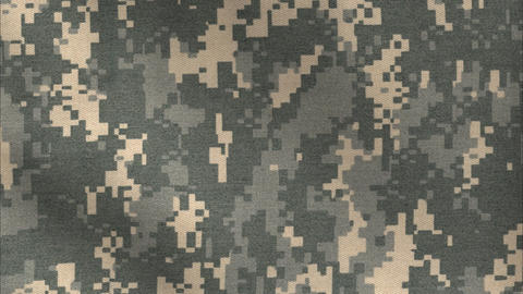 ACU Camo pattern background Stock Video Footage