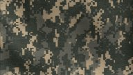 ACU Camo Pattern Background stock footage