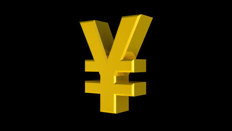 Yen (Bold) Stock Video Footage