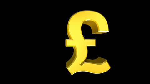 Pound Sterling Wipe Stock Video Footage