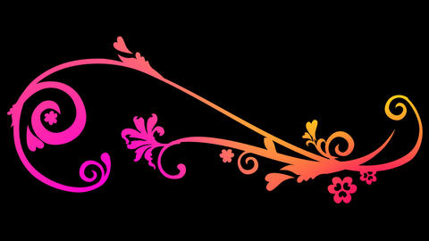 Floral Pattern 01 Animation