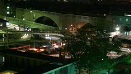 night_traffic01 Stock Video Footage