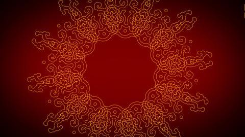 Oriental Background 03 Stock Video Footage