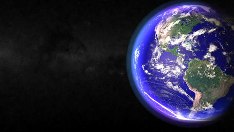 Passing Earth Stock Video Footage