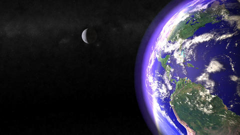 Passing Earth Animation