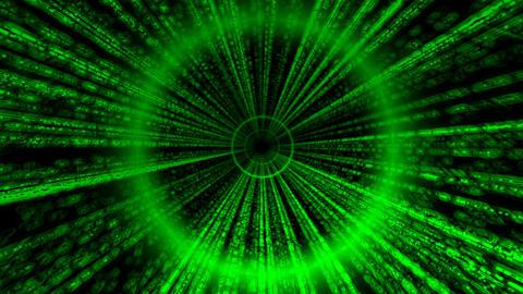 Matrix Tube Straight, Loop Stock Video Footage