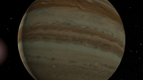 Jupiter Flyby Animation