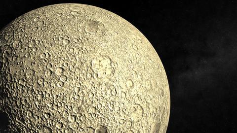 Orbiting the Moon Animation