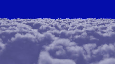 Flying over Clouds + alpha Animation
