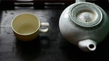 Teapot pouring tea,ancient customs of... Stock Video Footage