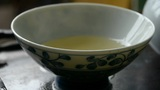 Teapot pouring tea,ancient customs of leisure.china,japan,water,steaming Footage