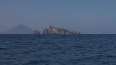 Stromboli 02 Stock Video Footage