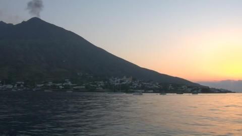 Stromboli 04 Stock Video Footage