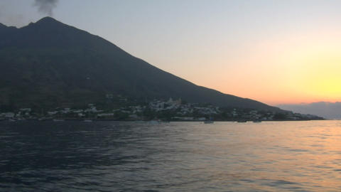 Stromboli 04 Stock Video Footage