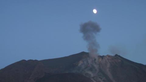 Stromboli eruption 03 Footage